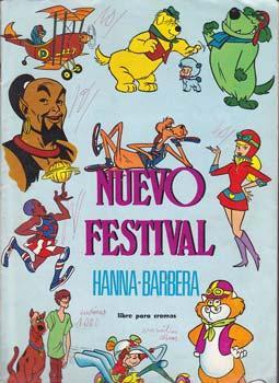 NUEVO FESTIVAL HANNA-BARBERA - Album Editorial Fher - Incompleto