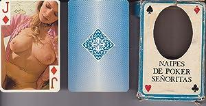BARAJA EROTICA DE SEÑORITAS. Naipe Poker de 55 Cartas