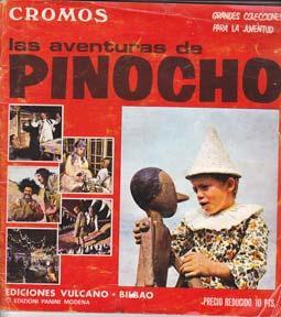 LAS AVENTURAS DE PINOCHO - Album Ediciones Vulcano - Incompleto
