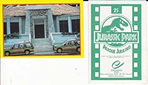 Cromos JURASSIC PARK (PARQUE JURASICO). Ediciones Este.