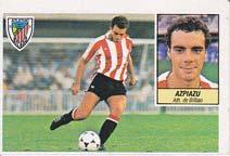 Cromos LIGA 84-85. Ediciones Este. AZPIAZU. Athletic Club de Bilbao.
