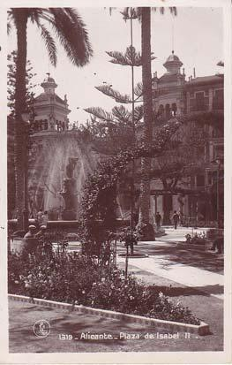 ALICANTE. PLAZA DE ISABEL II