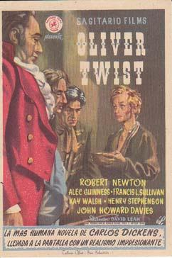 OLIVER TWIST - Teatros Borras-Galindo de Cieza (Murcia) - Director: David Lean - Actores: Robert ...