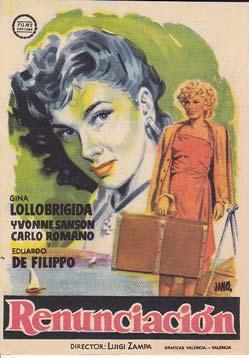 RENUNCIACION - Cine Victoria - Director: Luigi