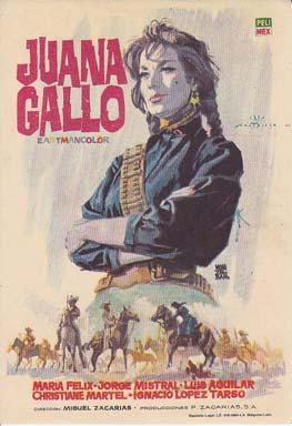 JUANA GALLO - Director: Miguel Zacarías -
