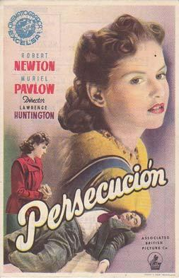 PERSECUCION - Teatro Circo Villar de Murcia - Director: Lawrence Huntington - Actores: Robert New...