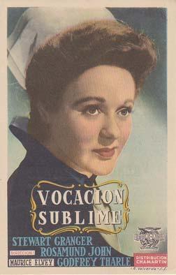 VOCACION SUBLIME - Cine Avenida de Santiago de la Ribera (Murcia) - Director: Maurice Elvey - ...