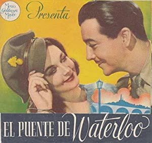 EL PUENTE DE WATERLOO - Cinema Goya de Alcoy (Alicante) - Director: Mervyn LeRoy - Actores: Vivie...