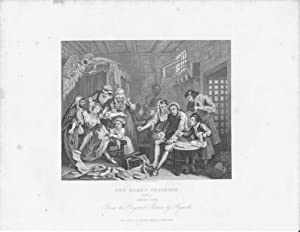 GRABADO - THE RAKE S PROGRESS. (Plate 7): Prision Scene