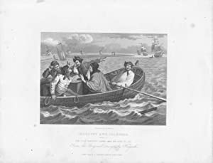 GRABADO - INDUSTRY AND IDLENESS. (Plate 5): The Idle Prentice Turnd Away and Sent to Sea