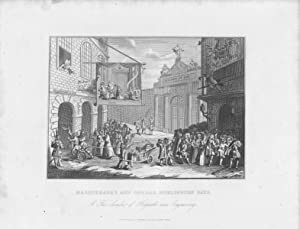 GRABADO - MASQUERADES AND OPERAS, BURLINGTON GATE