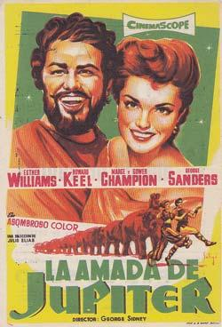LA AMADA DE JUPITER - Ideal de Alicante - Director: George Sidney - Actores: Esther Williams, How...