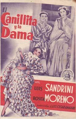 EL CANILLITA Y LA DAMA - Cine España - Director: Luis César Amadori - Actores: Luis ...