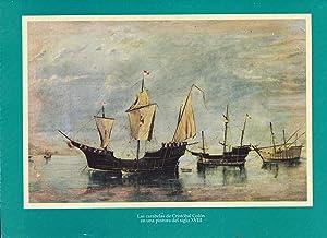 Las cabelas de Cristóbal Colón en una pintura del siglo XVIII/ A