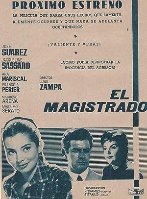 EL MAGISTRADO: Director: Luigi Zampa - Actores: