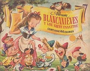 BLANCANIEVES Y LOS SIETE ENANITOS - Album Editorial Bruguera - Incompleto