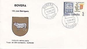 BOVERA (Lérida) - 135 LES GARRIGUES - ESCUTS HERÁLDICS (Escudos Heráldicos)