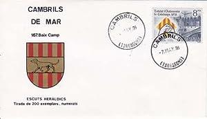CAMBRILS DE MAR (Tarragona) - 167 BAIX CAMP - ESCUTS HERÁLDICS (Escudos Heráldicos)