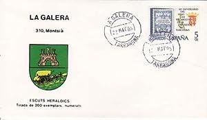 LA GALERA (Tarragona) - 310 MONTSIÁ - ESCUTS HERÁLDICS (Escudos Heráldicos)
