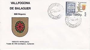 VALLFOGONA DE BALAGUER (Lérida) - 859 NOGUERA - ESCUTS HERÁLDICS (Escudos Herá...