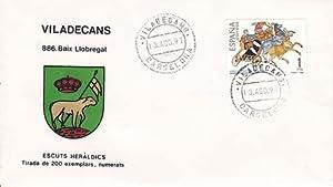 VILADECANS (Barcelona) - 886 BAIX LLOBREGAT - ESCUTS HERÁLDICS (Escudos Heráldicos)