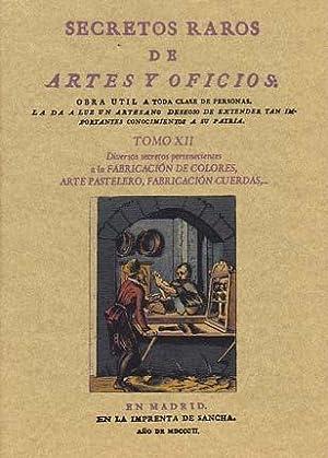 SECRETOS RAROS DE ARTES Y OFICIOS. TOMO