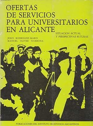 OFERTAS DE SERVICIOS PARA UNIVERSITARIOS EN ALICANTE: RODRÍGUEZ MARÍN, Jesús