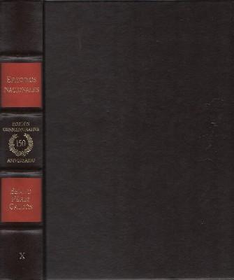 EPISODIOS NACIONALES. EDICION CONMEMORATIVA 150 ANIVERSARIO. 10 TOMOS.: PEREZ GALDOS, BENITO.