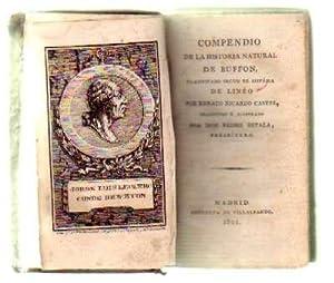 COMPENDIO DE LA HISTORIA NATURAL DE BUFFON. TEORICA DE LA TIERRA Y EPOCAS DE LA NATURALEZA (2 TOMOS...