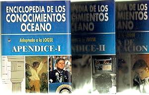 ENCICLOPEDIA DE LOS CONOCIMIENTOS. OCEANO (3 APENDICES MAS ESTUCHE): VV. AA.