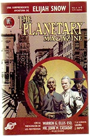 THE PLANETARY MAGAZINE VOL. 2 Nº1