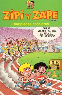 ZIPI Y ZAPE. OLIMPIADAS ESCOLARES.: ESCOBAR, J.