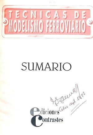 TECNICAS DE MODELISMO FERROVIARIO (6 TOMOS): VV. AA. (EDITOR: MANUEL GASCH)