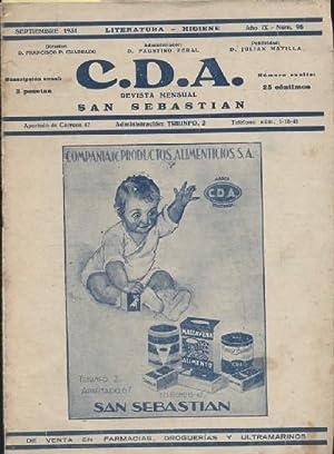 C.D.A. REVISTA MENSUAL: VV. AA.