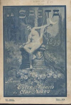 LA SAETA. SEMANARIO ILUSTRADO. AÑO 1899: VV. AA.