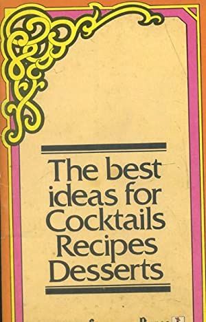 THE BEST IDEAS FOR COCKTAILS RECIPES DESSERTS