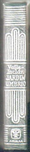 CRISOLIN Nº29: JARDIN UMBRIO: VALLE INCLAN, JOSE MARIA