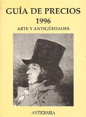 GUIA DE PRECIOS 1996. ARTE Y ANTIGÜEDADES: EQUIPO ANTICUARIA