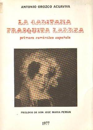 LA GADITANA FRASQUITA LARREA. PRIMERA ROMANTICA ESPAÑOLA: OROZCO ACUAVIVA, ANTONIO