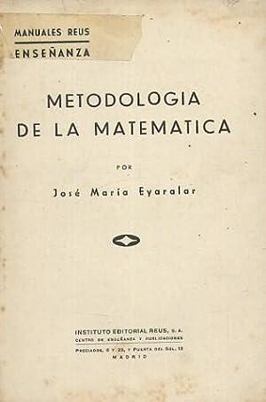 METODOLOGIA DE LA MATEMATICA: EYARALAR, JOSE MARIA