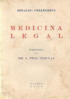 MEDICINA LEGAL: PELLEGRINI, RINALDO