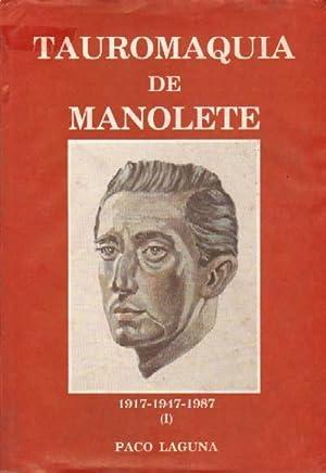TAUROMAQUIA DE MANOLETE (1917-1947-1987): LAGUNA, PACO