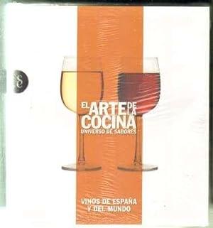 EL ARTE DE LA COCINA. UNIVERSO DE SABORES. VINOS DE ESPAÑA Y DEL MUNDO: VV.AA.