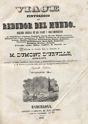 VIAJE PINTORESCO ALREDEDOR DEL MUNDO 3 TOMOS: DUMONT D' URVILLE, M. ( DIRECCION )