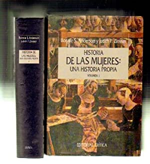 HISTORIA DE LAS MUJERES: UNA HISTORIA PROPIA. 2 TOMOS.: ANDERSON, BONNIE S./ZINSSER, JUDITH P.