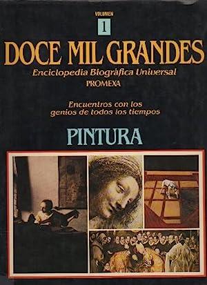 DOCE MIL GRANDES. ENCICLOPEDIA BIOGRAFICA UNIVERSAL. 12 VOLUMENES.: VV.AA.