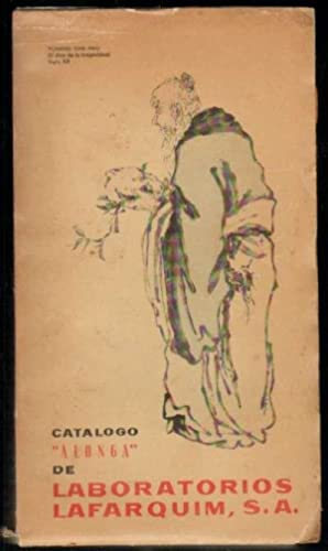 CATALOGO ALONGA DE LABORATORIOS LAFARQUIM, S. A.: VV. AA.