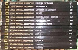 ATLAS NATIONAL GEOGRAPHIC. 14 TOMOS