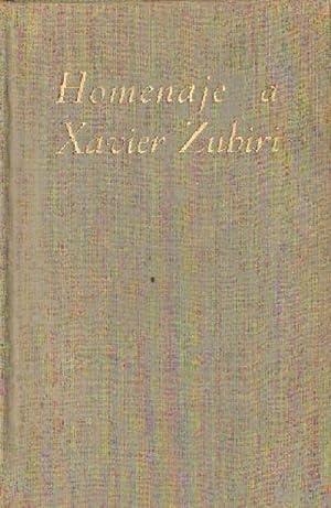 HOMENAJE A XAVIER ZUBIRI: VV.AA.