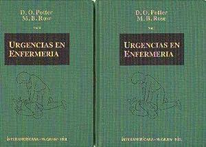 URGENCIAS EN ENFERMERIA. 2 TOMOS.: POTTER, D.O.; ROSE, M.B.